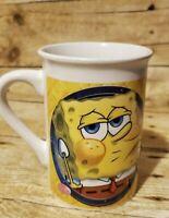 Spongebob Squarepants Coffee Mug Nickelodeon Viacom Two Face