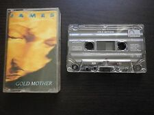 K7 CASSETTE audio JAMES : GOLD MOTHER (Phonogram 1990 envoi suivi)