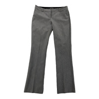Express Women's Columnist Dress Pants 8R Slacks Stretch Grey Career