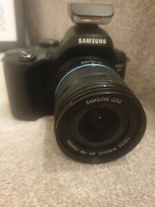 Samsung Nx20 no charger or lens cap