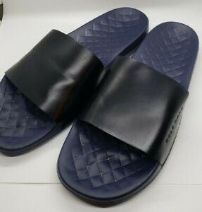 Men's Cole Haan Grand Pro Slides Blue and Black Lightweight Sandals #C30548