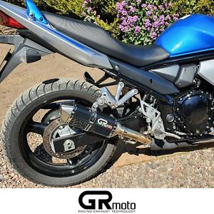 Exhaust for Suzuki GSF 650 Bandit 07 - 15 GRmoto Muffler Carbon