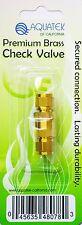 Aquatek Premium Brass Check Valve