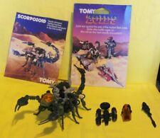 Scorpozoid/Guysak vintage 1985 Tomy blue Zoid 99% complete