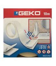 """GEKO """"fix in"""" nastro biadesivo in schiuma di elevato spessore bianco 10 m"""