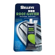 Selleys Roof & Gutter 75g Translucent Silicone