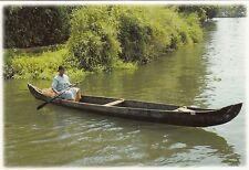 (82125) Postcard India Kerala Backwaters Boat #12 - un-posted