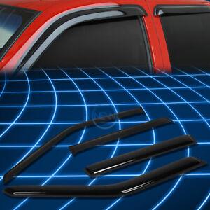 Tint Tape-on Window Visor Wind Sun Rain Deflector for 1993-1997 Volvo 850 P80