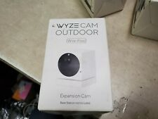 WYZE CAM Expansion Camera OUTDOOR Wire-Free Cam, Security Camera, NEW