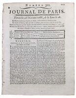 Parmentier en 1788 USA New York Pomme de Terre Théâtre Italien Ines de Castro