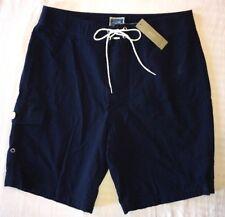 "J Crew 30 Swim Trunks Shorts Navy Seersucker NWT a5929 Long Board Shorts 9"""