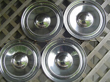 VINTAGE 1951 1952 CHRYSLER FIFTH AVE NEW YORKER HUBCAPS WHEEL COVERS CENTER CAPS