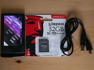 COWON J3 Baladeur audiophile MP3 noir 32 go avec carte micro SD Kingston 32 go