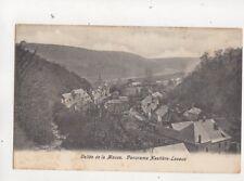 Vallee De La Meuse Panorama Hastiere Lavaux Belgium U/B Postcard 505b