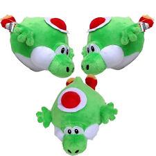 10''Super Mario Bros Plush Character Fat Fly Yoshi Soft Toy Stuffed Animal Doll