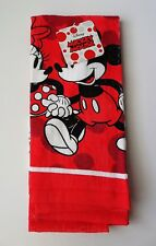 Disney - Mickey & Minnie Mouse Stroll Red Kitchen Towel