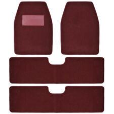 BDKUSA 3 Row Best Quality Carpet Floor Mats for SUV Van - Burgundy - 4PC