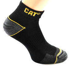 15 CAT® Caterpillar Work SNEAKER schwarz Socken 43-46 Arbeitssocken Sneakers