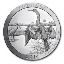 2014 5 oz Silver ATB Coin Everglades National Park, FL - SKU #80983