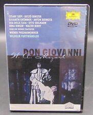 Don Giovanni W. A. Mozart (DVD, 2001) Deutsche Grammophon Unitel