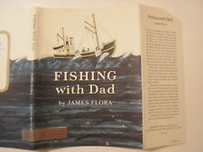 Fishing With Dad, James Flora, Dust Jacket Only