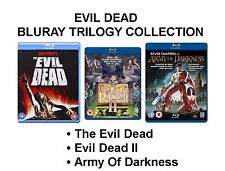 EVIL DEAD TRILOGY BLU RAY PART 1 2 3 COLLECTION BRAND NEW AND SEALED UK