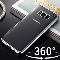 Chrome 360 Hybrid Air Cushion Case Cover For Samsung Galaxy S8 S9 PLUS