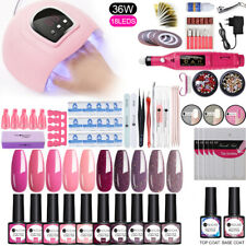 UR SUGAR UV Gel Nail Polish Kit UV Lamp LED Dryer Nail Drill Machine Tools Set
