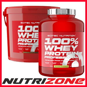 SCITEC NUTRITION 100% WHEY PROTEIN PROFESSIONAL CONCENTRATE & ISOLATE WPC WPI