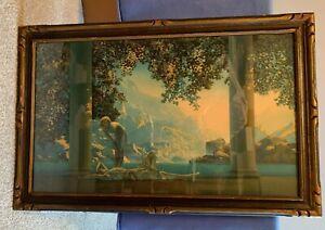 DAYBREAK - Maxfield Parrish - 33 x 21.5 inches - original frame - House of Art