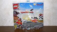 Lego Racers Ferrari Shell Promo Set 40194 Finish Line & Podium von 2014 NEU MISB
