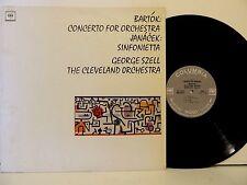Bartok,Janacek,George Szell LP Bartok:Concert for Orch. Janacek,Sinfonietta