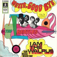 "The BEATLES - Hello, Good Bye / I Am The Walrus - 7"" Vinyl Single"