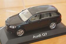 1:43 AUDI Q7 black or blue SCHUCO 4L blau schwarz 0.3.4.2.6 TDI TFSI FSI v12