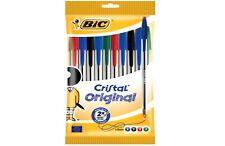 BIC Kugelschreiber Cristal Original, sortiert, 10er Beutel verschieden Farben