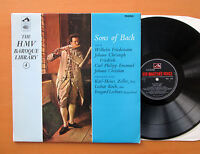 HQM 1039 Sons Of Bach The HMV Baroque Library 4 1965 NM/EX