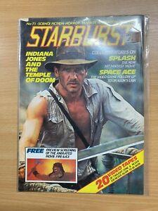 1984 STARBURST MAGAZINE #71 INDIANA JONES AND THE TEMPLE OF DOOM (LL)