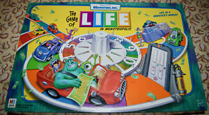 The Game Of Life Monsters Inc Edition Replacement Parts & Pieces 2001 MB