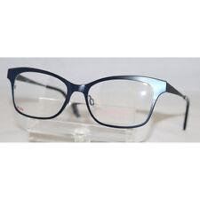 fe4f7ec328 NEW Isaac Mizrahi IM 30016 NV Navy Prescription Eyeglasses 52-17-135 IM30016