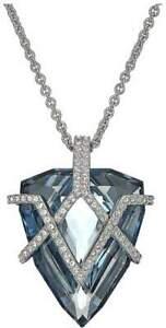 STUNNING NEW IN BOX Swarovski Women's Goodwill Crystal  Pendant Necklace