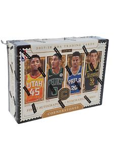 2017-18 Panini Cornerstones NBA Basketball Box potential Mitchell & Tatum
