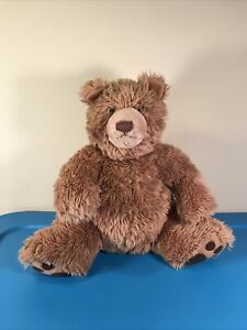 "Gund Brown Teddy Bear Plush 44134 Brown Kohl's Cares 150 Round Tan Face 14"""