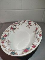 "Minton Ancestral Wreath Mark 10 1/4"" X 7 1/4""Oval Vegetable Serving Bowl England"