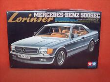 Tamiya ® 2437 Lorinser Mercedes-Benz 500 SEC 1:24