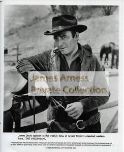 "James Arness Gunsmoke Marshal Dillon James Drury ""The Virginian""  Photo # 17"