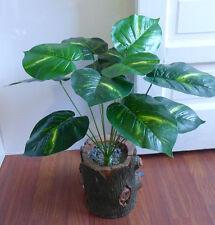 Artificial Palm Bush Lifelike Plants Small Tree (12 leaves)