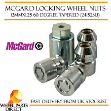 McGard Locking Wheel Nuts 12x1.25 Bolts for Infiniti G37 Sedan 09-13