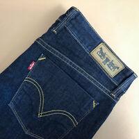 Levi 627 Jeans Straight Zip Fly Blue Vintage Women's (PatchW32L32) W 31 L 28