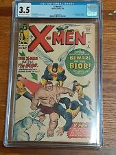 X-Men #3 CGC 3.5 OWW (Marvel 1/64) 1st appearance of the Blob! Hot!