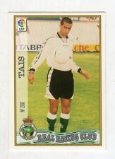figurina card fichas - CARD LIGA 97/98 1997  - N. 266 REAL RACING CLUB TAIS